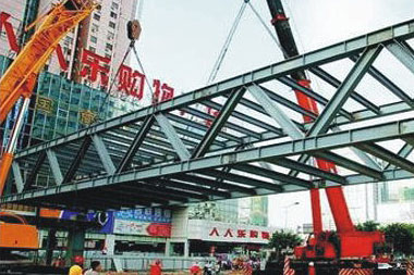 岳阳市巴陵中路天桥